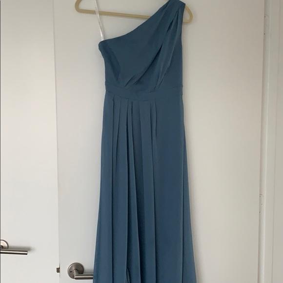 f1165cfdf16 David s Bridal Dresses   Skirts - David s Bridal chiffon slate blue dress